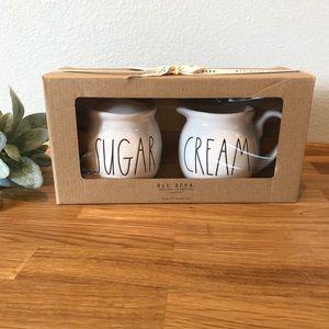 Rae Dunn SUGAR CREAM set